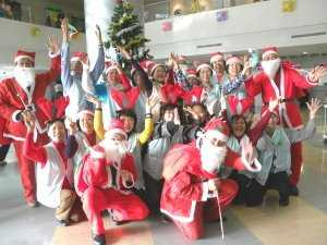 柳營奇美醫院舉辦溫馨聖誕活動