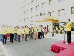 柳營奇美醫院訂每月廿日為「員工健康日」