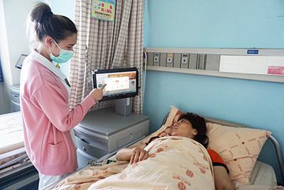 護理人員節省作業時間,病患就醫更完善!