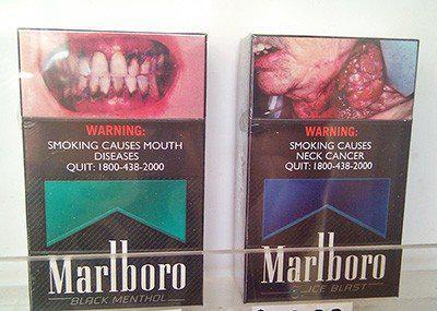 澳洲推菸品素面、警示圖文,減少菸害!