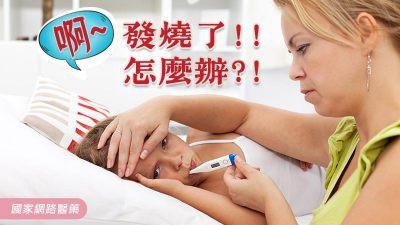 啊~發燒了!!怎麼辦?!