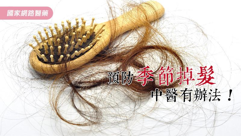 預防季節掉髮,中醫有辦法!