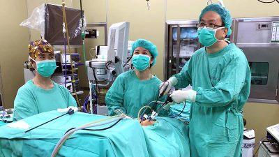 腹腔鏡疝氣修補手術搭配新型態人工網膜 創造醫師病患雙贏局面!
