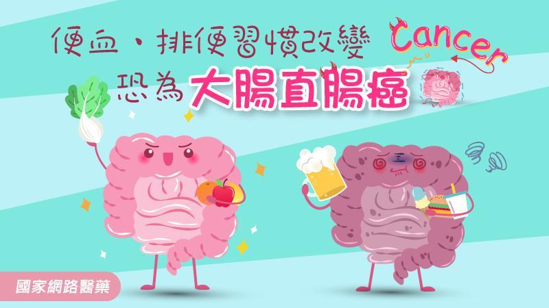 便血、排便習慣改變,恐為大腸直腸癌