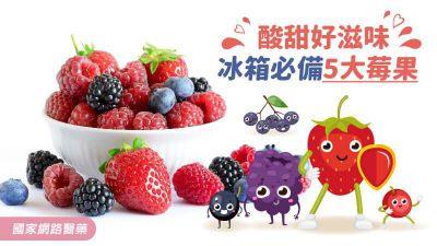 酸甜好滋味,冰箱必備5大莓果