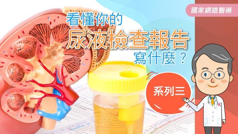 看懂你的尿液檢查報告寫什麼?系列三