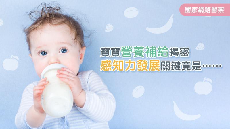 寶寶營養補給揭密 感知力發展關鍵竟是……