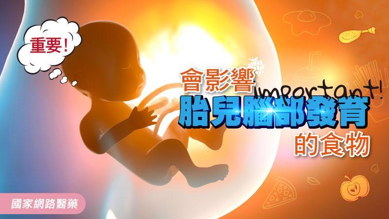 重要!會影響胎兒腦部發育的食物