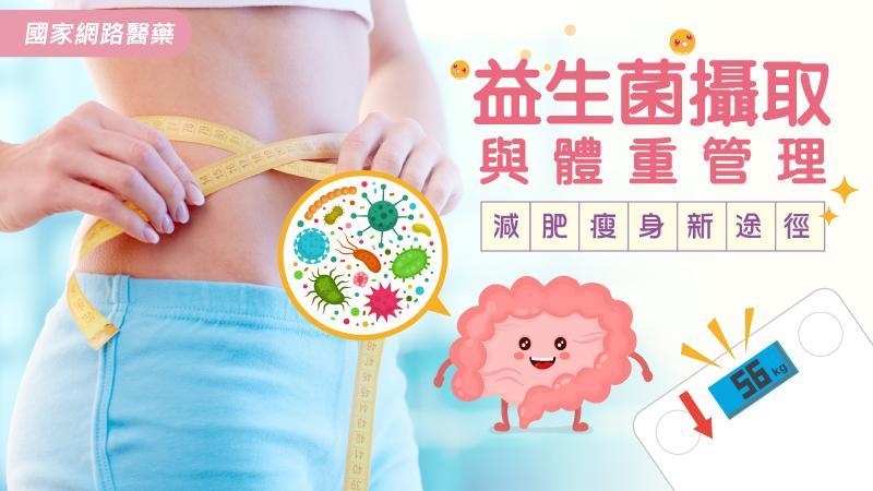 減肥瘦身新途徑 益生菌攝取與體重管理