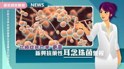 比癌症死亡率更高 新興抗藥性耳念珠菌警報