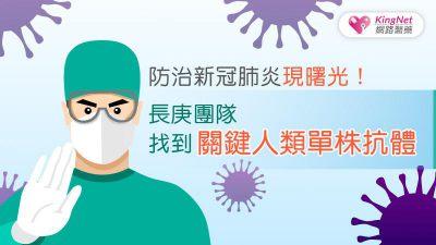 防治新冠肺炎現曙光!長庚團隊找到關鍵人類單株抗體
