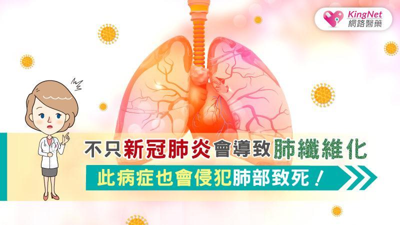 不只新冠肺炎會導致肺纖維化,此病症也會侵犯肺部致死!