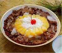 紅豆米粉冰