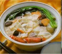 三鮮河粉湯