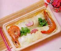 蛋包蕃茄炒飯盒餐