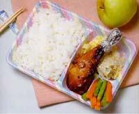 銀魚炒蛋盒餐