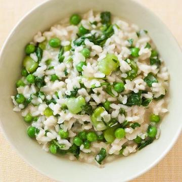 青豌豆燴飯