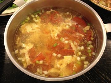 蕃茄蛋花湯