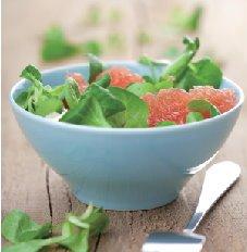 葡萄柚苦苣沙拉