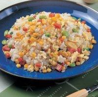 玉米火腿炒飯