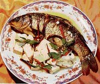 豆腐燜鯉魚