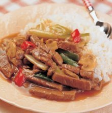 洋菇牛柳燴飯