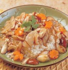 燒春菇燴飯
