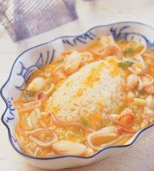 蝦粉白菜燴飯