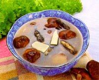 鳳爪香菇湯