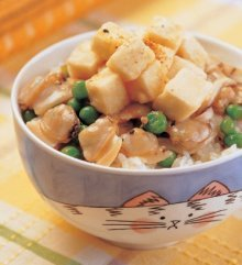 蛤蜊豆腐蓋飯