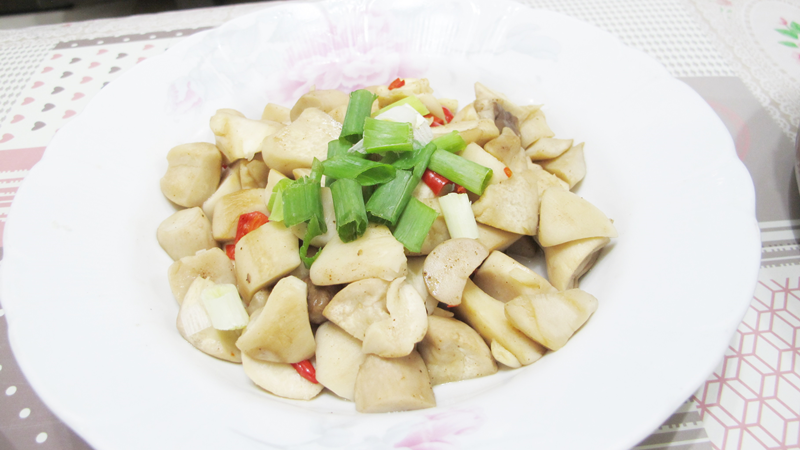減脂食譜:椒鹽杏鮑菇