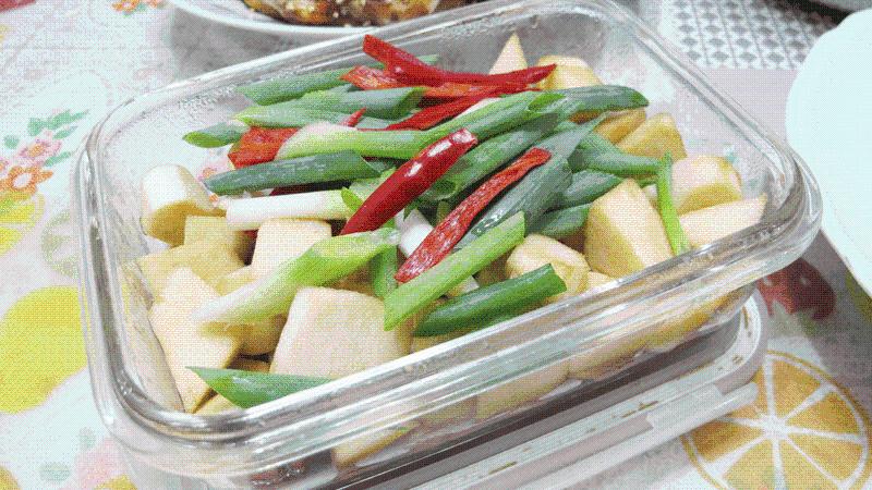 減脂食譜:涼拌筊白筍