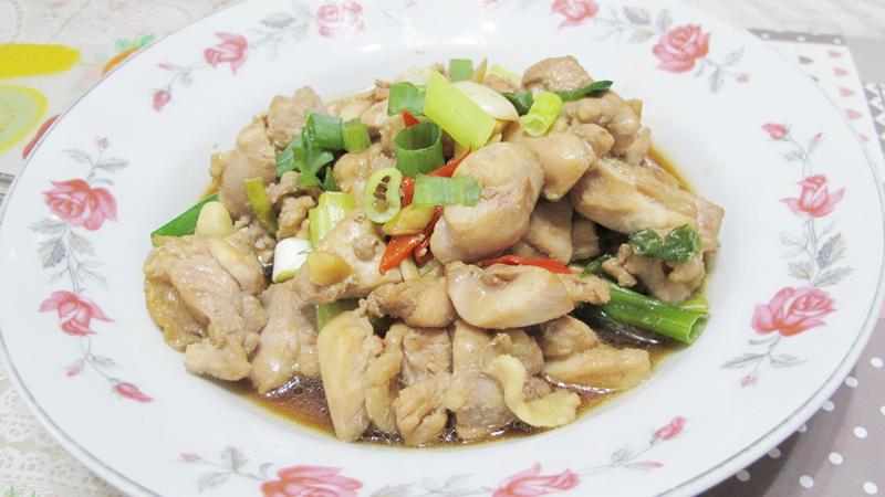 減脂食譜:蔥燒雞腿肉(三人份)