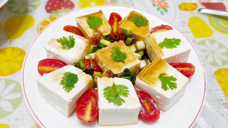 減脂食譜:泰式酸辣番茄豆腐