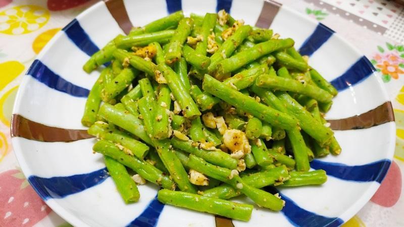 減脂食譜:鹹蛋四季豆