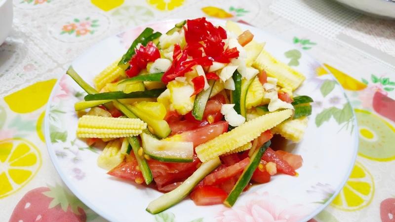 減脂食譜:涼拌時蔬