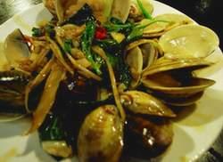 九層塔炒牡蠣(低脂)