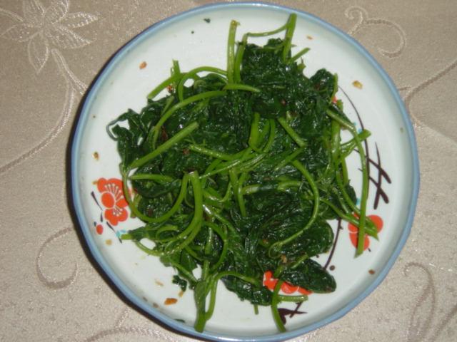 養身蕃薯葉