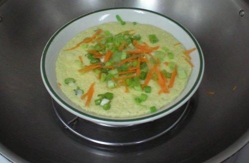 胡蘿蔔水蒸蛋