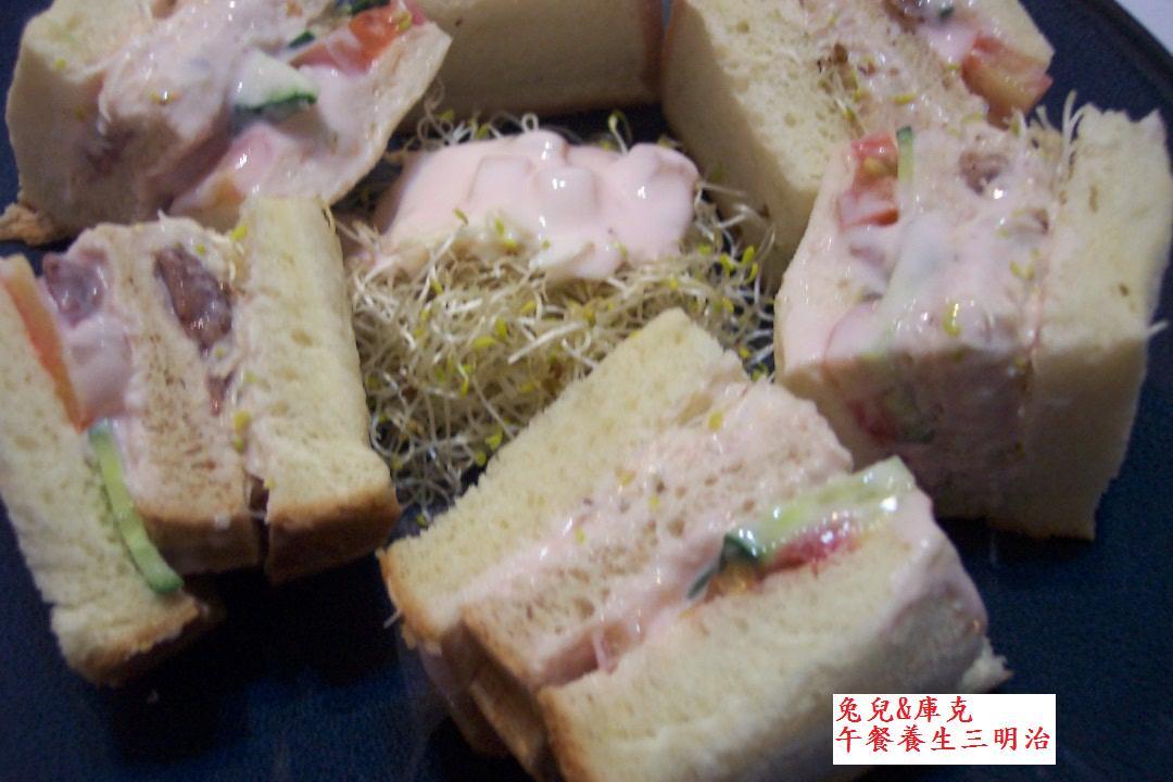 養生輕食三明治