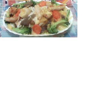 火鍋餃起司麵
