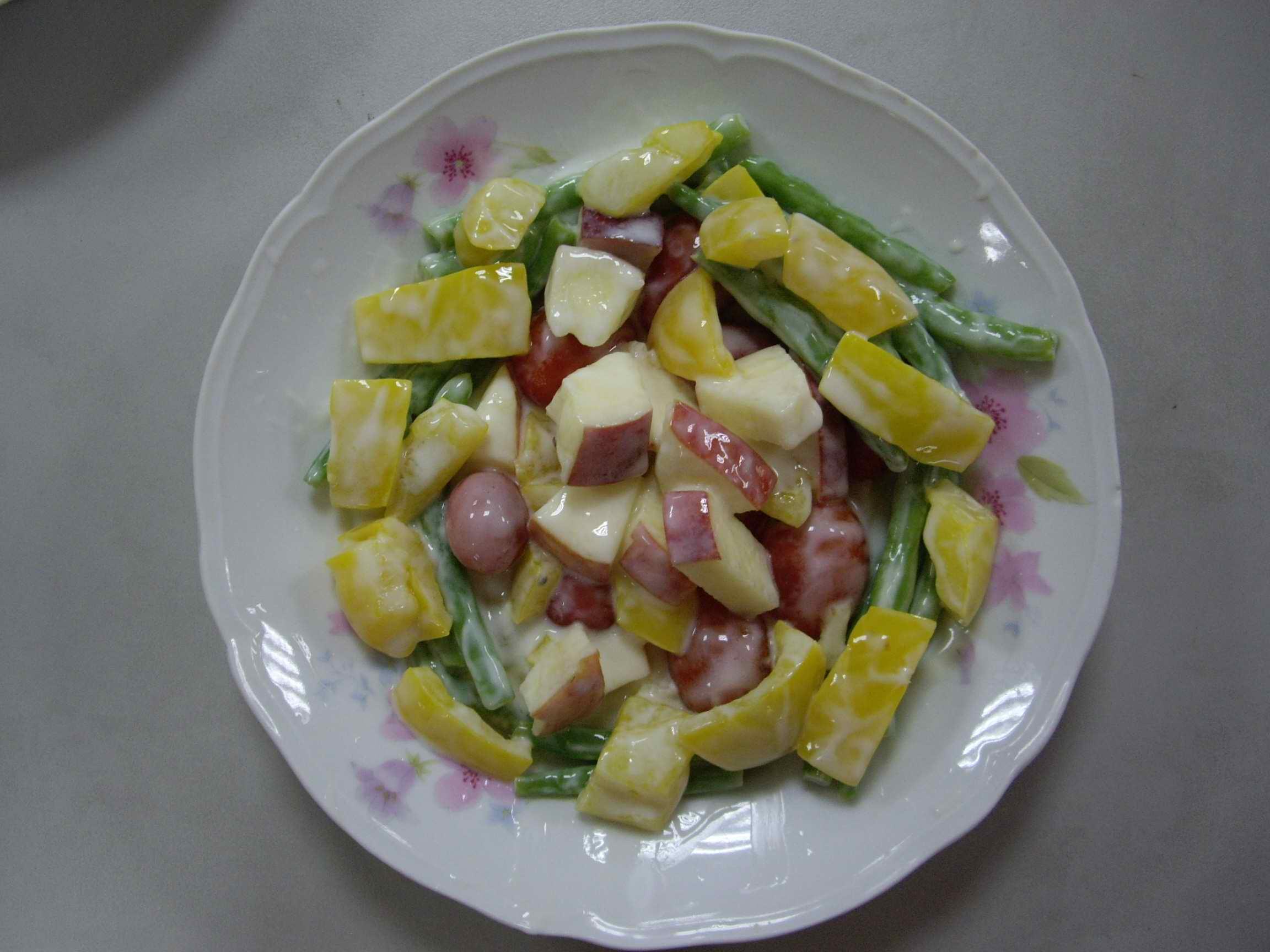 鮮蔬優格沙拉