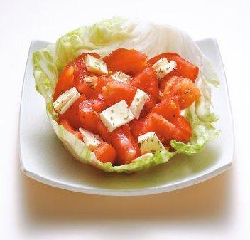番茄起司沙拉