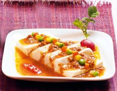 珍珠菇豆腐