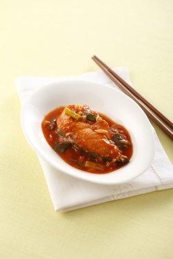 茄汁燴鮭魚