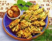 炸蔬菜香菇