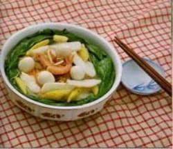什錦寧波年糕湯