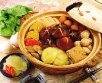 瓜漬香菇火鍋
