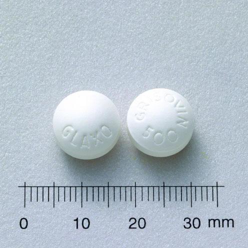 格利蘇芬膜衣錠500公絲(灰黴素)