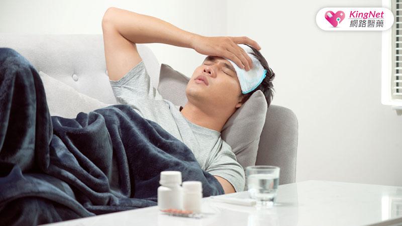 新冠病毒發燒